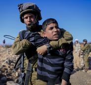 الاطفال الفلسطينيين في السجون الاسرائيلية