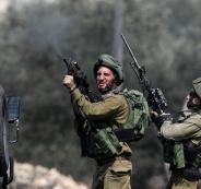إصابة 38 مواطناً بجروح وحروق بمواجهات مع الاحتلال في العيزرية