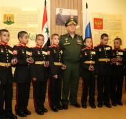 روسيا تدرب أطفال سوريين