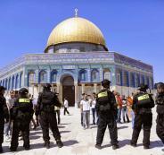 اغلاق المسجد الاقصى