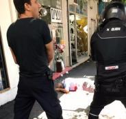 اصابة شرطي اسرائيلي بطعن في تل أبيب