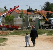 اعادة بناء مستوطنات في جنين