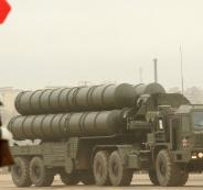 صاروخ اسرائيلي واس 300 في سوريا
