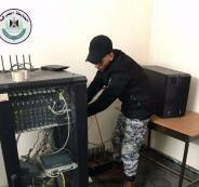 ضبط أجهزة بث وشحن أرصدة لشبكات إسرائيلية بنابلس