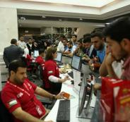 مبيعات الوطنية موبايل في غزة