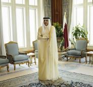 امير قطر في ايران