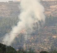 الدفاع المدني وحرائق وادي القف