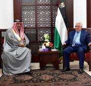 وزير الشباب والرياضة الكويتي في رام الله