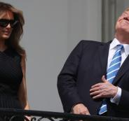 ترامب وكسوف الشمس