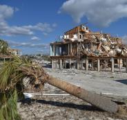 اعصار مايكل يضرب فلوريدا