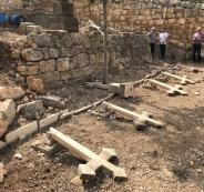 الاعتداء على مقبرة دير الرهبان