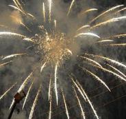 احتفالات العراقيين بدخول السنة الجديدة