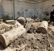 موقع تل السكني الاثري في غزة
