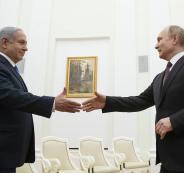 بوتين ونتنياهو واسرائيل