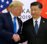 الصين تفرض عقوبات على اميركا