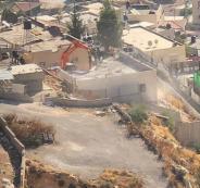 جرافات الاحتلال تهدم في القدس