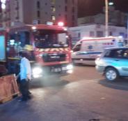 حريق فندق في العقبة الاردنية