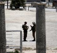 الجيش الاسرائيلي في سبسطية