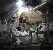 حفر انفاق في القدس
