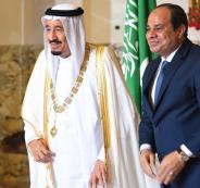 الرئيس المصري والملك سلمان