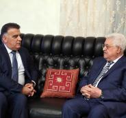 عباس في الاردن