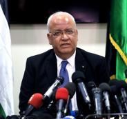 عريقات: قانون القومية اليهودية يهدف لطرد العرب من اسرائيل