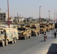 استهداف رتل تركي في سوريا