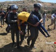اعتقال شاب خلال مسيرة عوفر