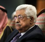 الرئيس عباس والطفل ابو رميلة