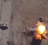 قصف جوي لداعش