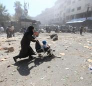حصار دوما السورية