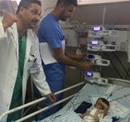 المقاصد: نجاح عملية قلب لطفل عمره 37 يوما