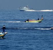 الجيش الاسرائيلي ومراكب الصيادين في غة