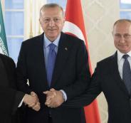 اجتماع تركي روسي ايراني بشان سوريا