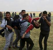جرحى في قطاع غزة