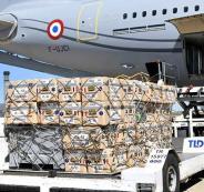 مساعدات الى لبنان