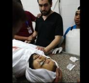 طبيب في غزة يقف عاجزا امام جثة شقيقه