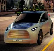 سيارة تعمل على الطاقة الشمسية