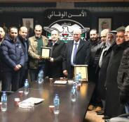 فعاليات ومؤسسات الرام تزور قيادة الأمن الوقائي في محافظة القدس