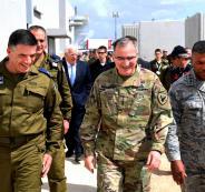 قائد الجيش الامريكي في اسرائيل
