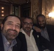 سيلفي سعد الحريري وبن سلمان وملك المغرب