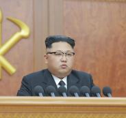 الزعيم الكوري الشمالي وكوريا الجنوبية