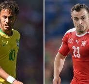 البرازيل وسويسرا