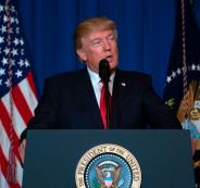 ترامب: داعش يسقط بسرعة كبيرة