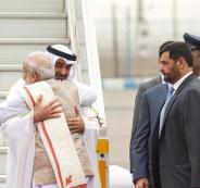 توقيع اتفاقيات بين الامارات والهند