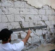 الزلزال في طبريا