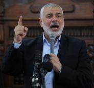 هنية واسرائيل وقطاع غزة