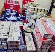 ضبط دخان غير قانوني في جنين