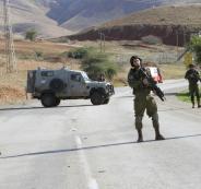 حواجز للجيش الاسرائيلي في الضفة الغربية