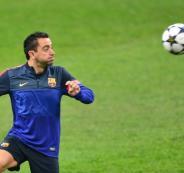 تشافي وتدريب برشلونة